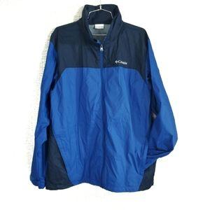 Columbia Packable Hooded Windbreaker Jacket
